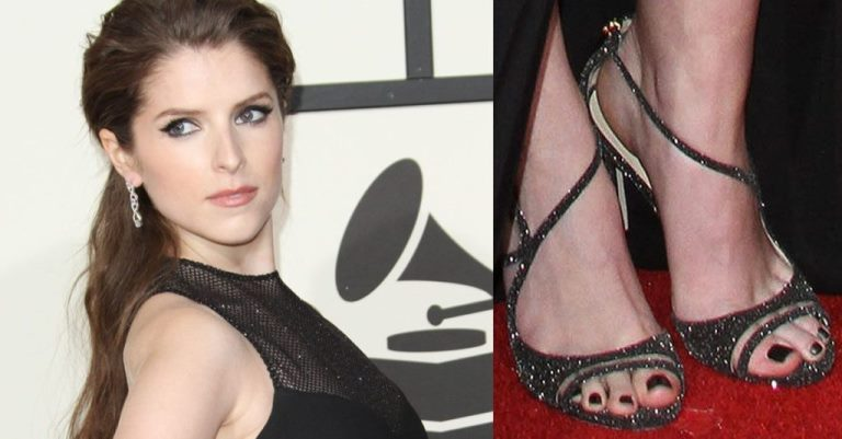 Anna Kendrick Feet, Shoe Size and Shoe Collection