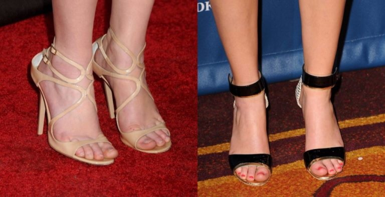Jennifer Lawrence Feet, Shoe Size And Shoe Collection