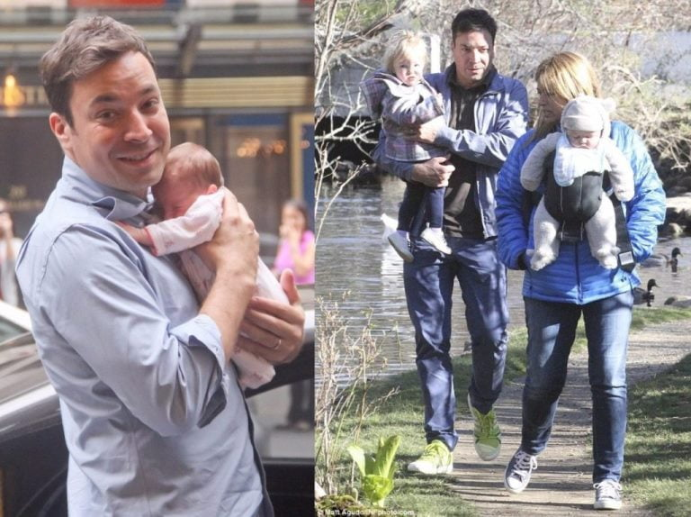 Jimmy Fallon Wife And Kids
