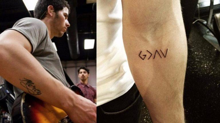 Nick Jonas Tattoo, Teeth