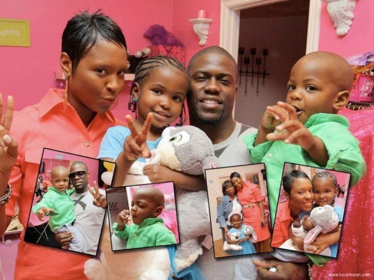 All The Scoop On Kevin Hart's Totally Adorable kids