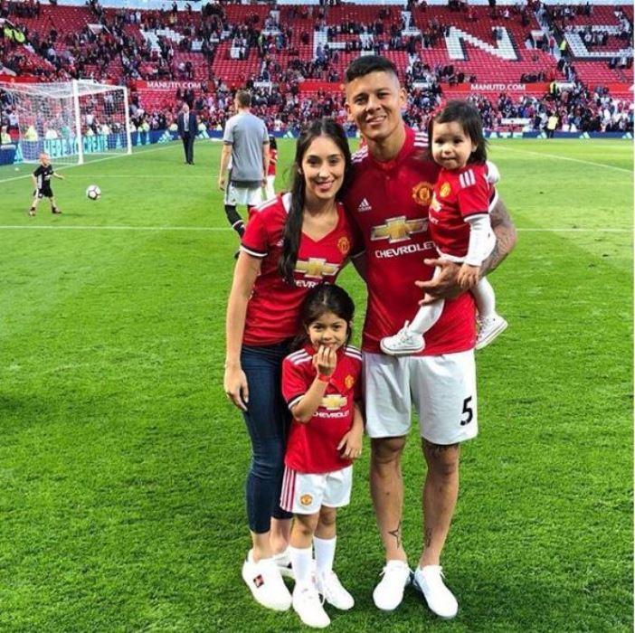 Marcos Rojo Wife, Girlfriend, Height, Weight, Body Measurements