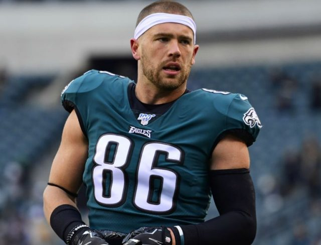 Zach Ertz Wife, Brother, Girlfriend, Injury, Net Worth, Biography